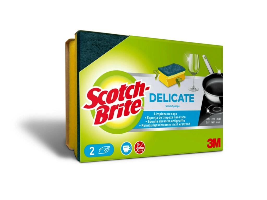 Scotch-Brite® Delicate Scrub Sponge - 2 Piece