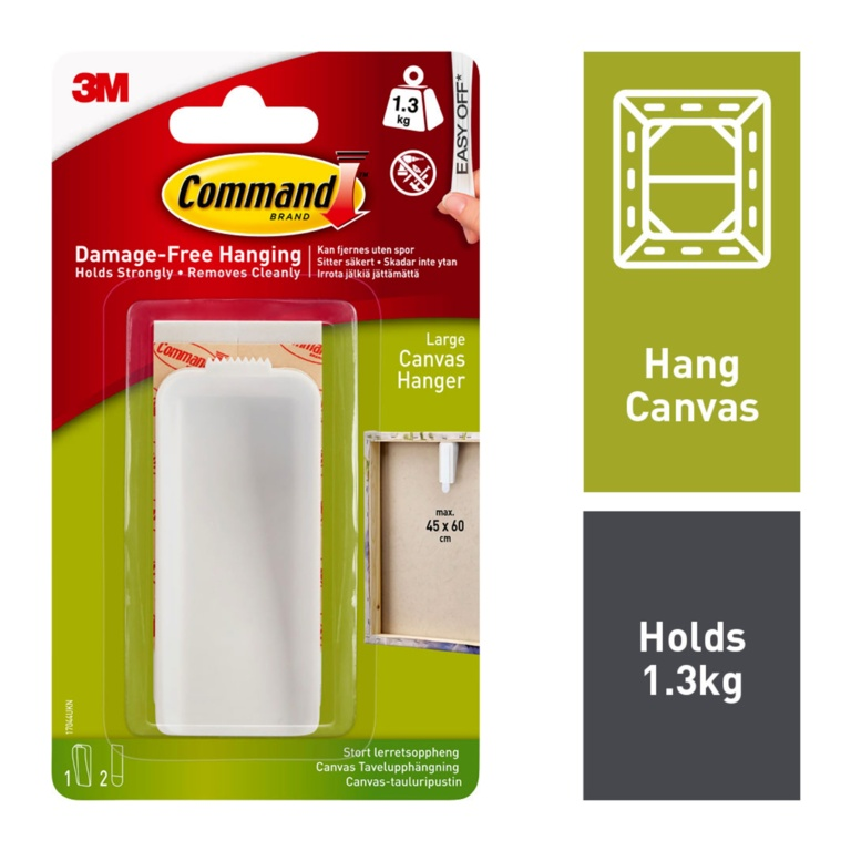 Command Canvas Hanger - Large
