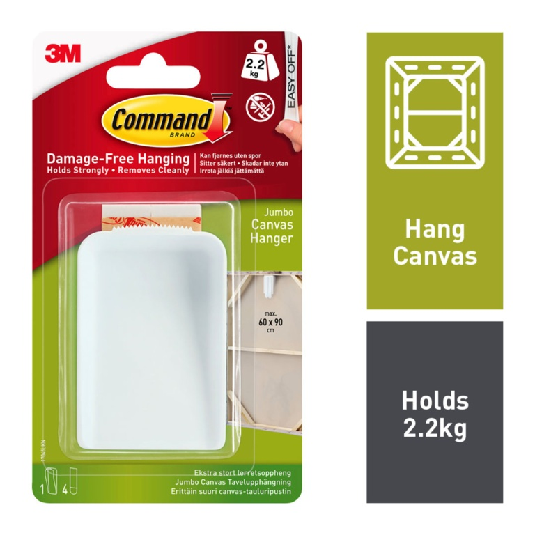 Command Canvas Hanger - Jumbo