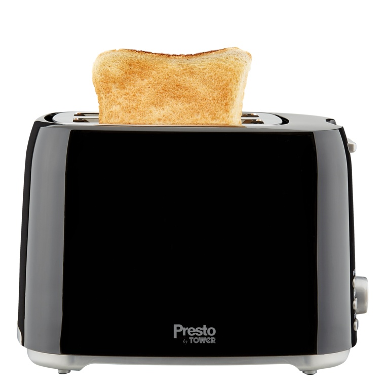 Tower Presto 2 Slice Toaster - Black