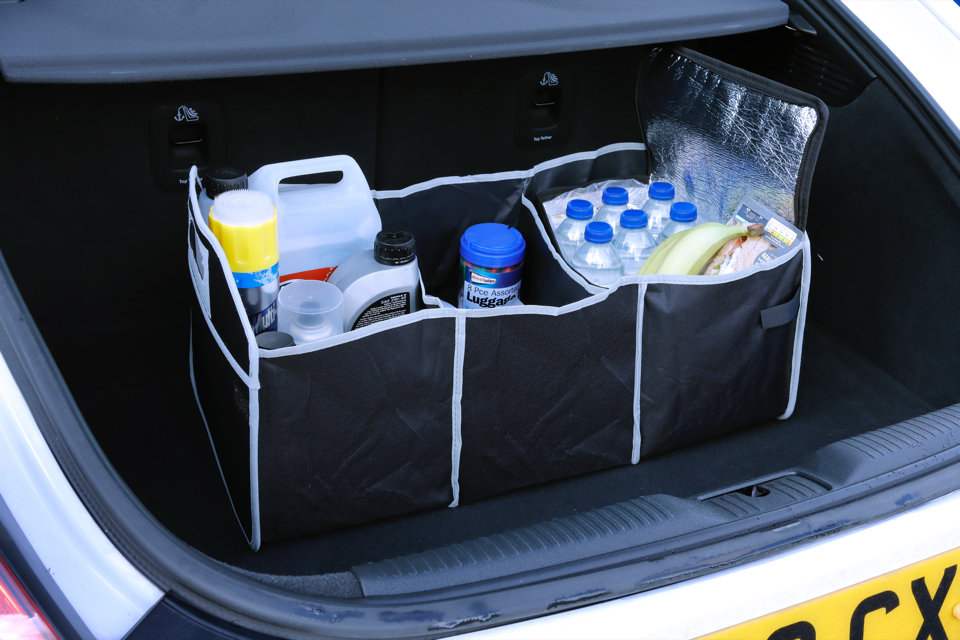 Streetwize 2 in 1 Boot Organiser With Cooler Bag