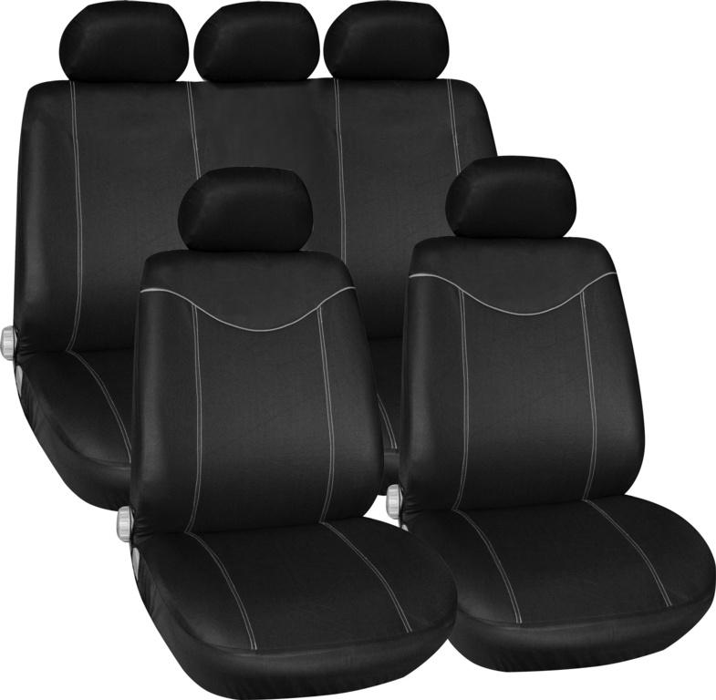 Streetwize Alabama Seat Cover Set - Grey 11 Piece