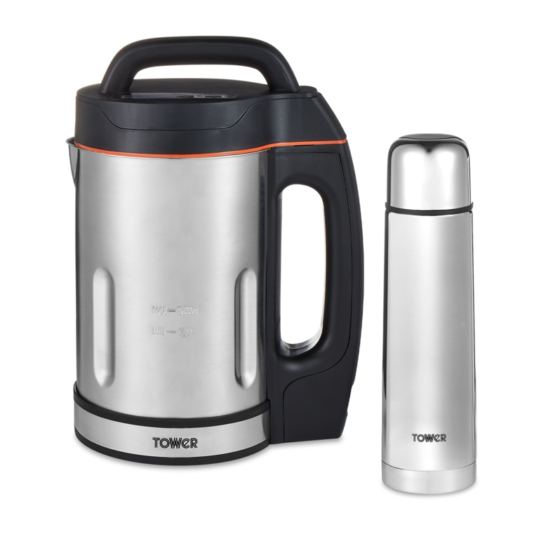 Tower Soup Maker Including 500ml Flask - 1.6L