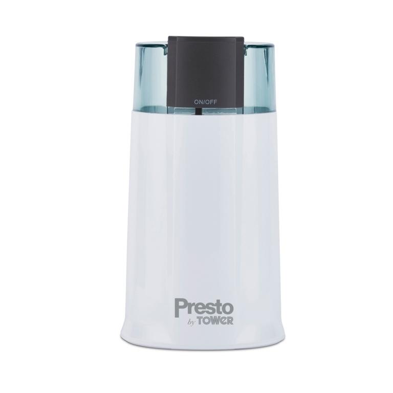 Tower Presto Coffee Grinder - White 160w
