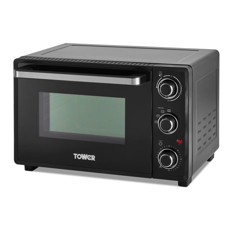 Tower Mini Oven - Black 23L
