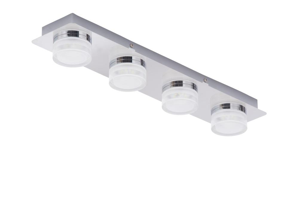 Spa Amalfi 4 Bar LED Flush - Chrome