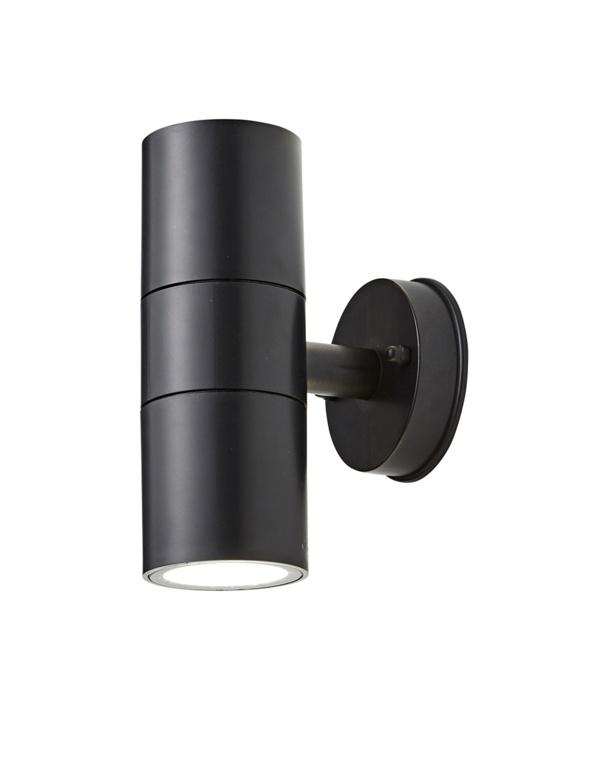 Coast Neso LED Twin GU10 Up Down - Black