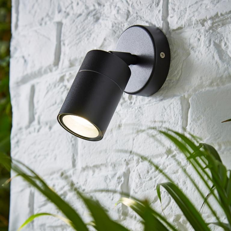 Zinc Leto 1 Light Adjustable - Black