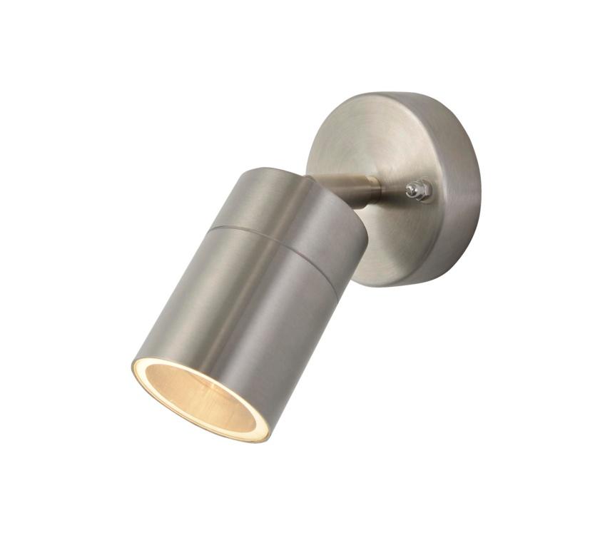Zinc Leto 1 Light Adjustable - Stainless Steel