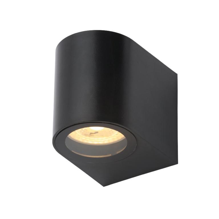 Coast Iona 1 Light Black Wall Light IP44 - 5w