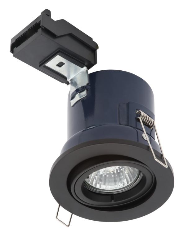 Electralite Adjustable Fire Downlight - Black