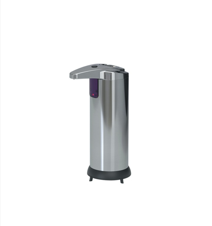 Croydex Touchless Free Standing Soap & Sanitiser Dispenser - Battery Operated