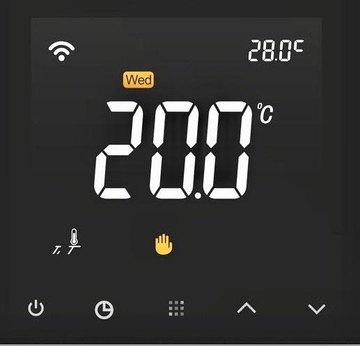 Giavani Bathrooms Touchscreen Thermostat