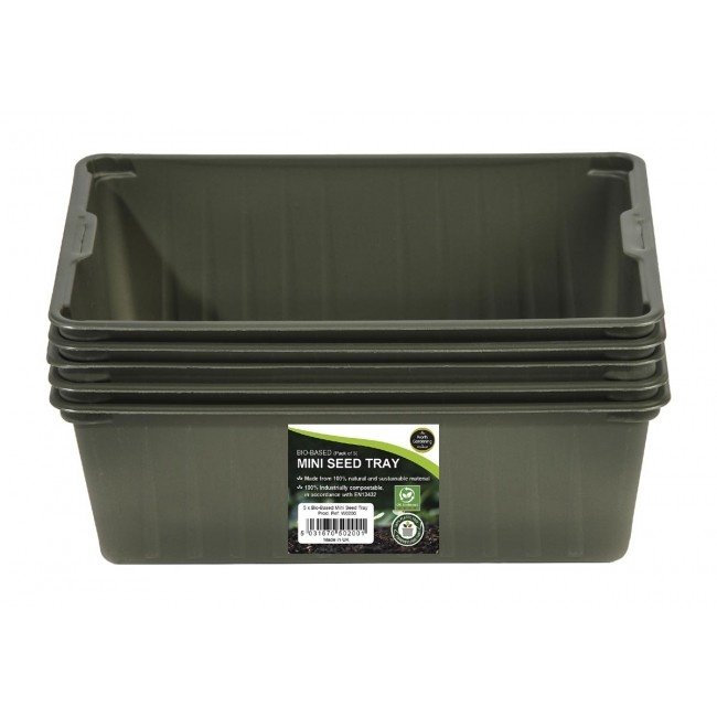 Garland Bio Based Mini Seed Tray - Pack 5