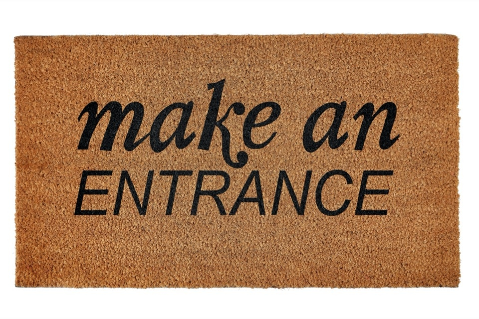 Groundsman Make An Entrance Doormat - 40x70cm