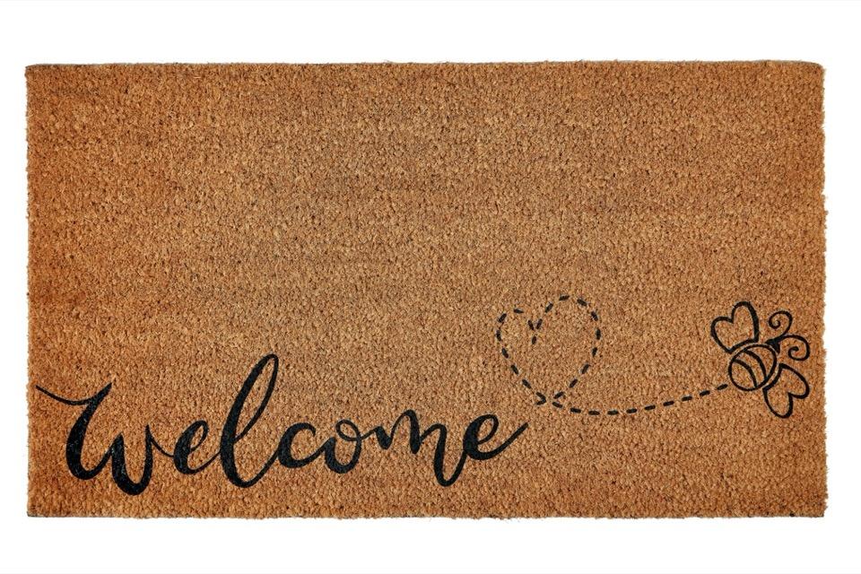 Groundsman Welcome Bee Doormat - 40x70cm