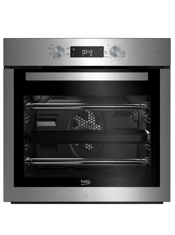 Beko Oven With Timer - Stainless Steel