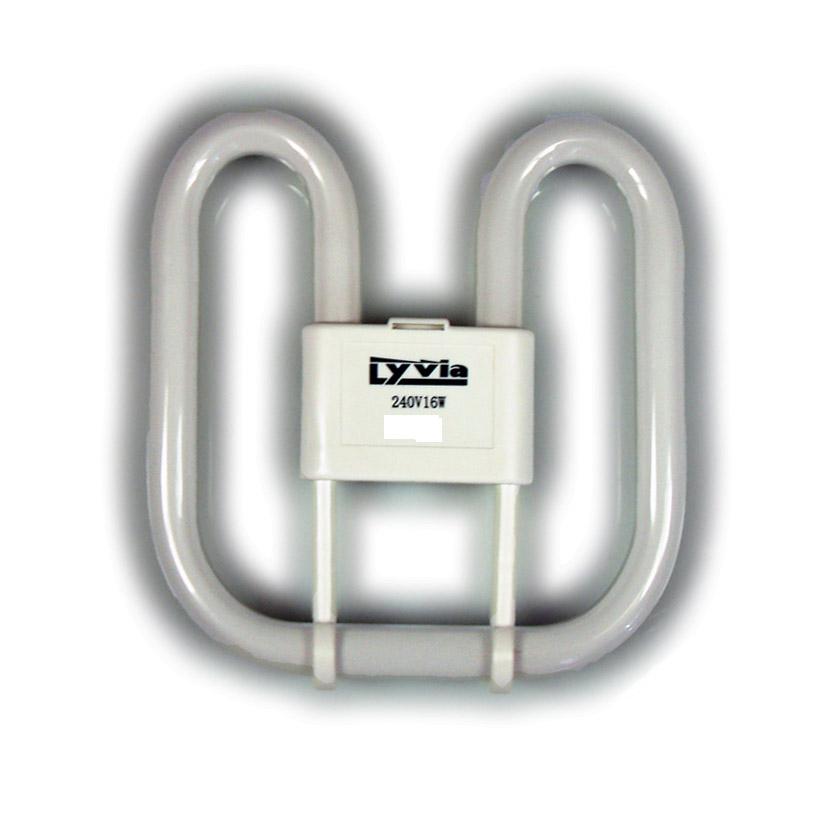 Dencon 16w 2D 2Pin Lamp Bubble Pack (2700K) - Bubble Packed