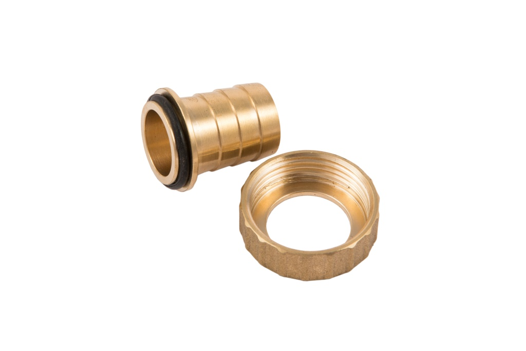 Securplumb Brass Hose Union Nut & Tail - 1/2""