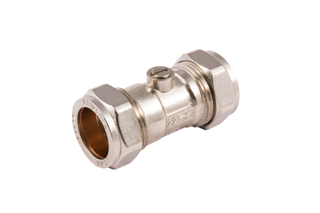 Securplumb CP CXC  Isolating Valve - 22mm