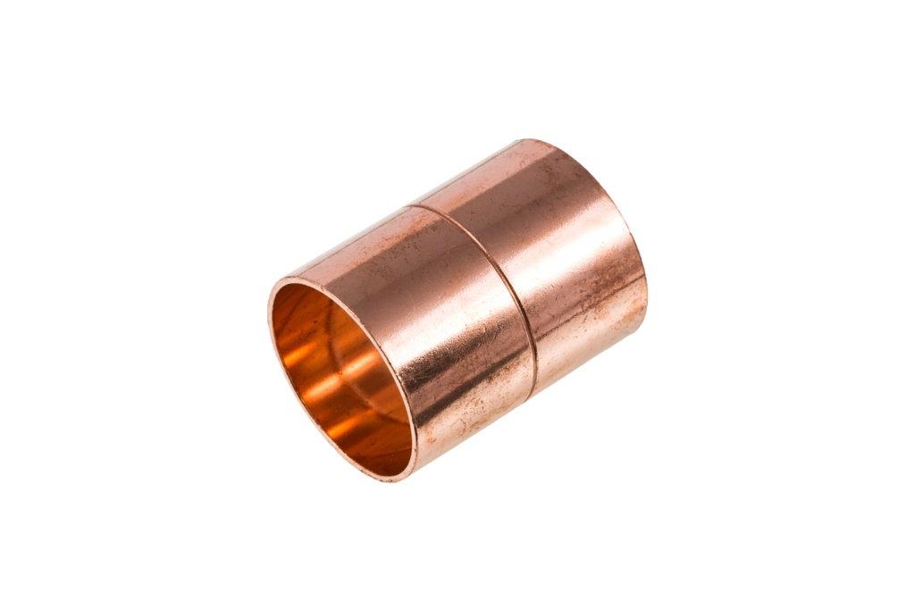 Securplumb WRAS Straight Coupling End Feed - 15mm Pack 10