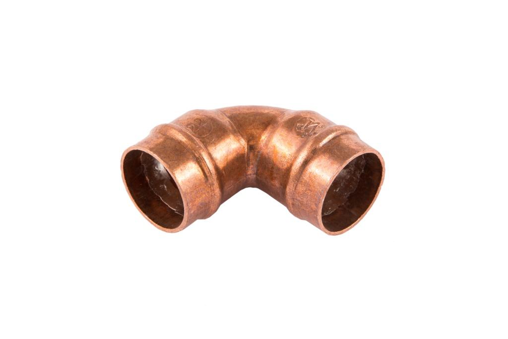 Securplumb SR12 90 Elbow Solder Ring - 15mm Pack 10