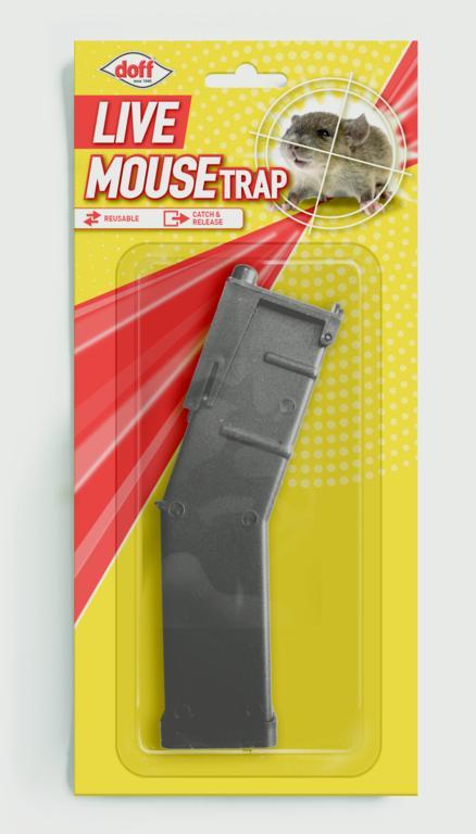 Doff Live Mouse Trap - Catch & Release