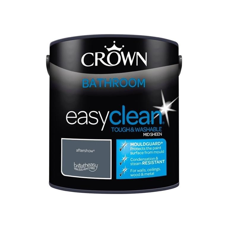 Crown Easyclean Bathroom Mid Sheen 2.5L - Aftershow