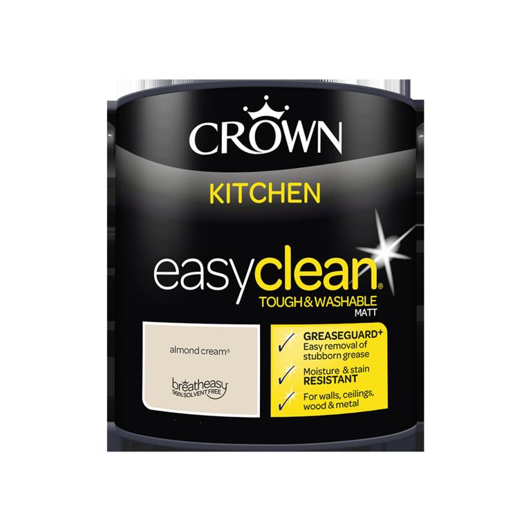 Crown Easyclean Kitchen Matt 2.5L - Almond Cream