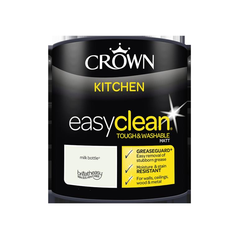Crown Easyclean Kitchen Matt 2.5L - Milk Bottle