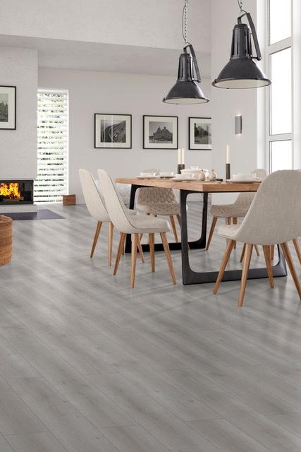 Classen Laminate Floor 12mm x 1.496m2 - Middle Grey Oak