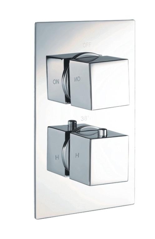 Giavani Dual Square Shower Valve