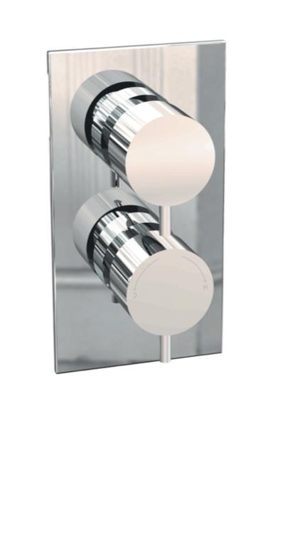 Giavani Dual Round Shower Valve