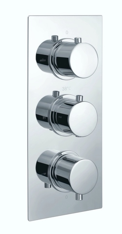 Giavani Triple Round Shower Valve