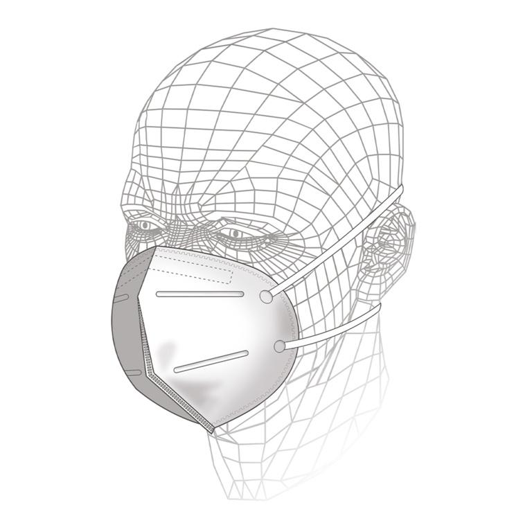 Vitrex Premium Respirator FFP1 - Single