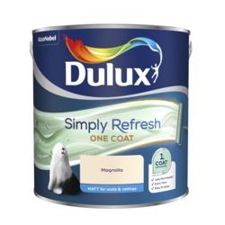 Dulux Simply Refresh One Coat Matt 2.5L Magnolia