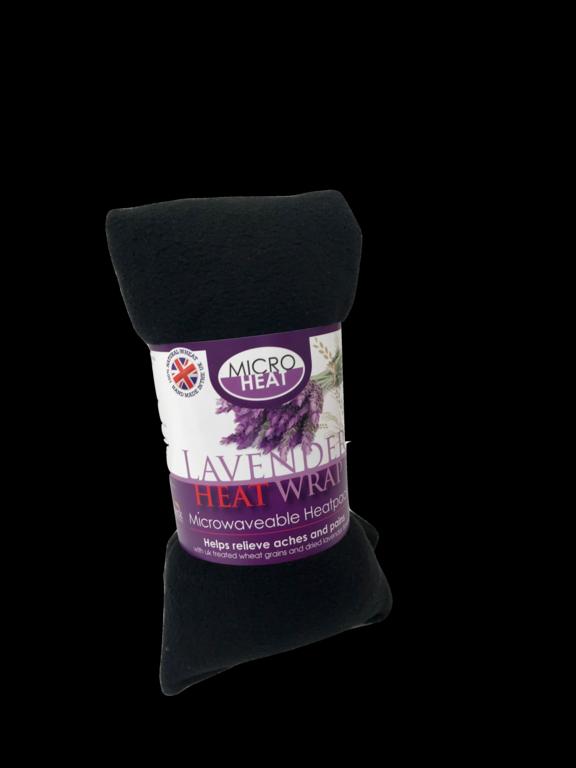 Microheat Wheat Lavender Heatpack - Fleece Assorted Colours