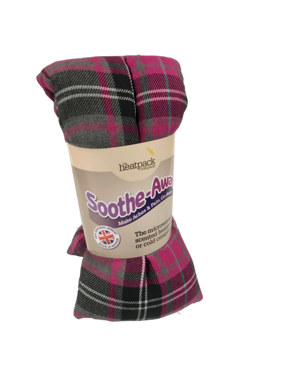 Sootheaway Wheat Lavender Heatpack - Tartan Assorted Colours