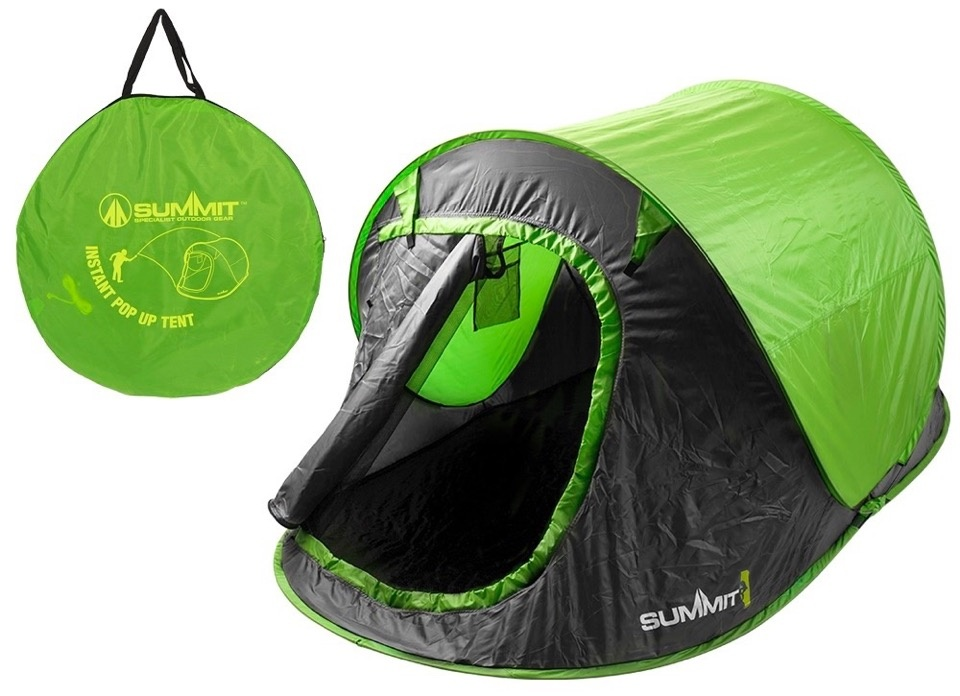 Summit Hydrahalt 2 Person Pop Up Tent - Green