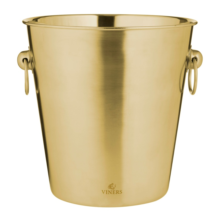Viners Gold Champagne Bucket - 4L