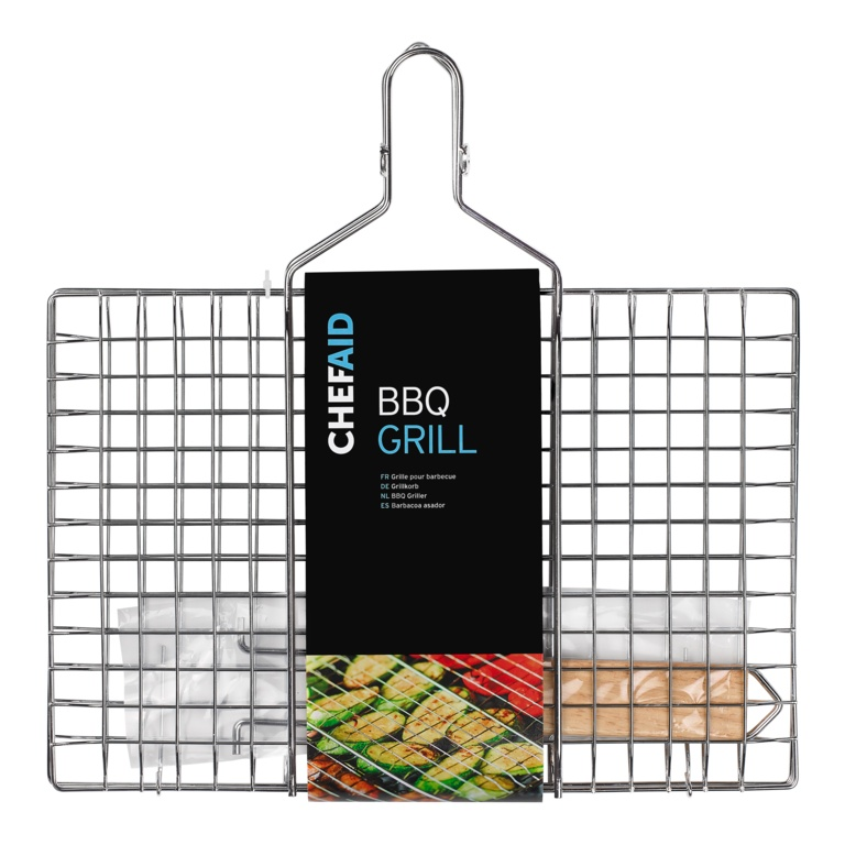 Chef Aid BBQ Griller With Folding Handle