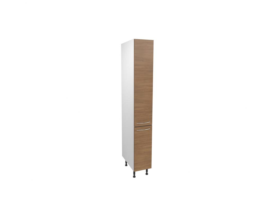 Gower Rapide Lisbon Oak Larder Door - 1244m x 300mm