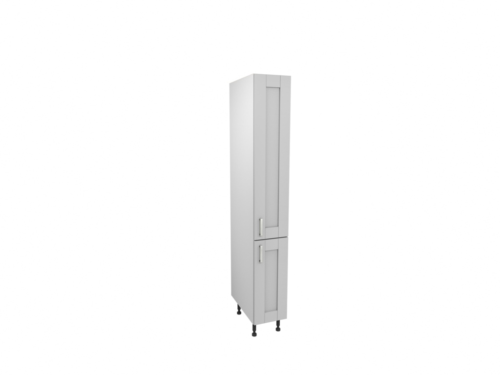 Gower Rapide Verona Grey Larder Door - 1244mm x 300mm