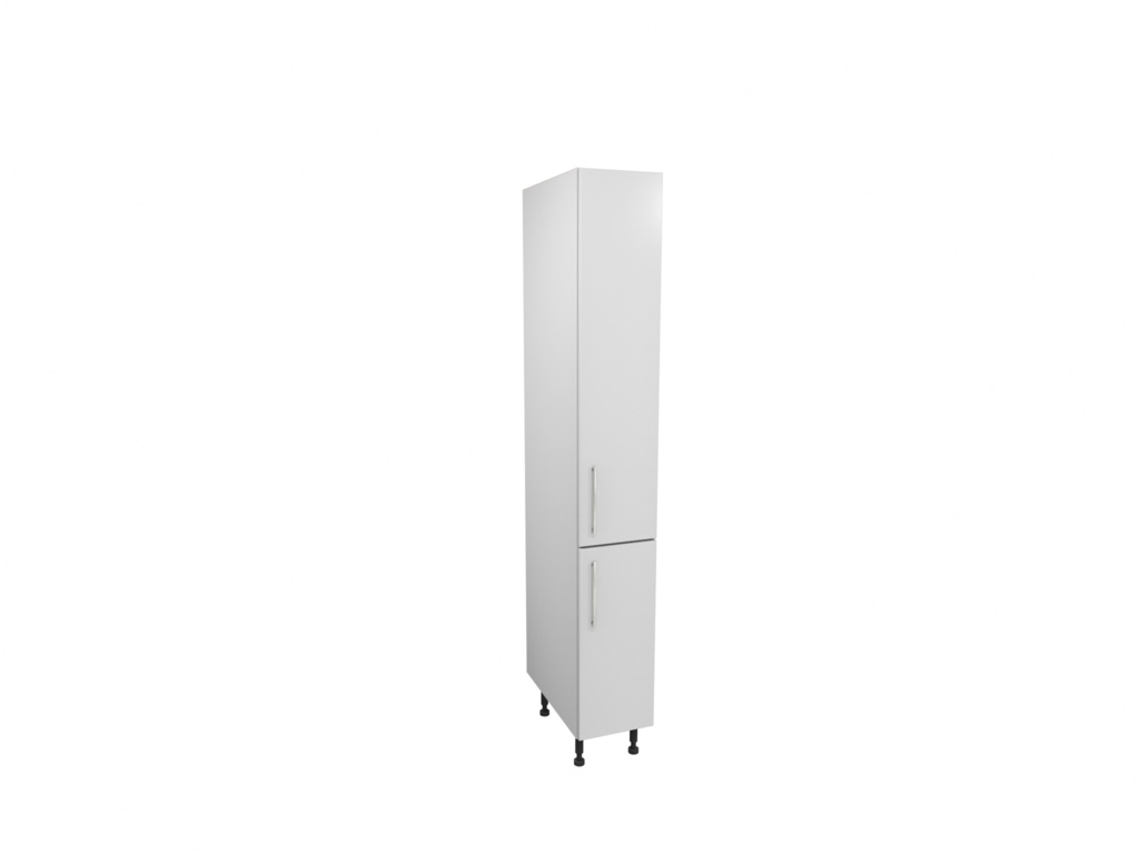 Gower Rapide Paris White Larder Door - 1244mm x 300mm