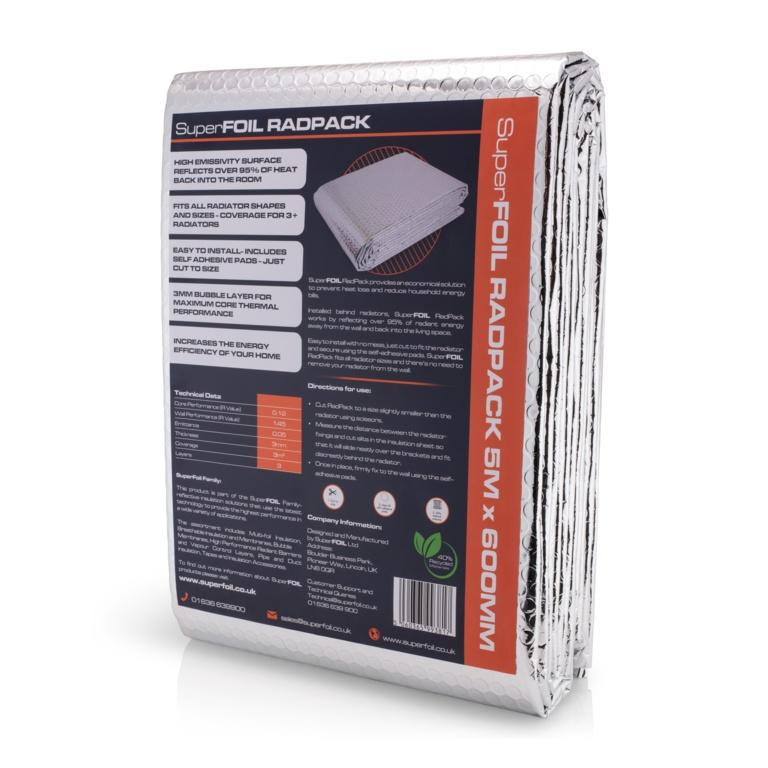 Superfoil Radiator Insulation