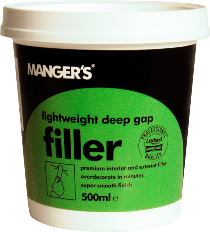 Mangers Lightweight Deep Gap Filler - 500ml