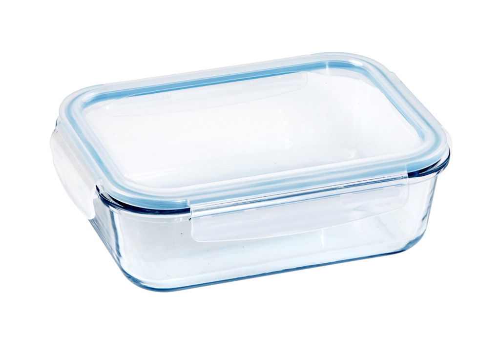 Probus Wiltshire Rectangle Glass Container - 1500ml