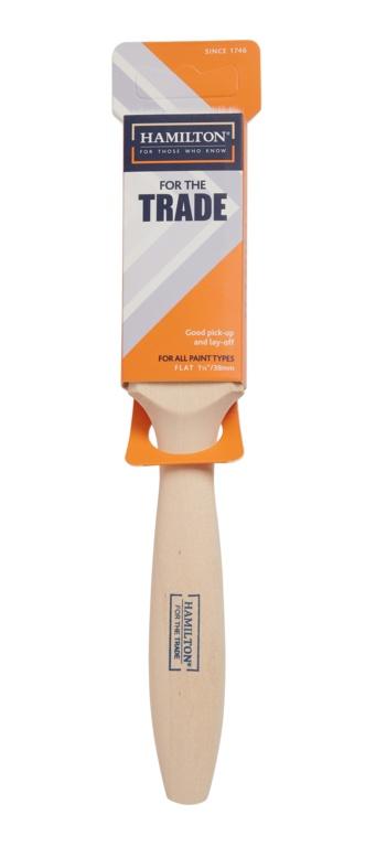 "Hamilton For The Trade Fine Tip Flat Brush - 1.5"""
