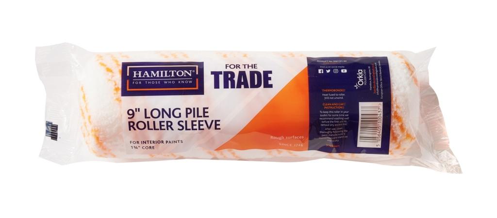 "Hamilton For The Trade Long Pile Roller Sleeve - 9"""