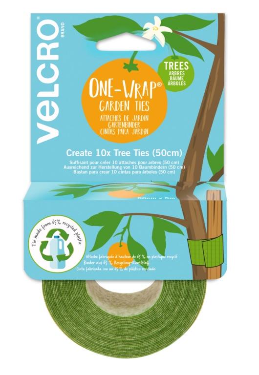 Velcro One Wrap Tree Ties - 5cm x 5m